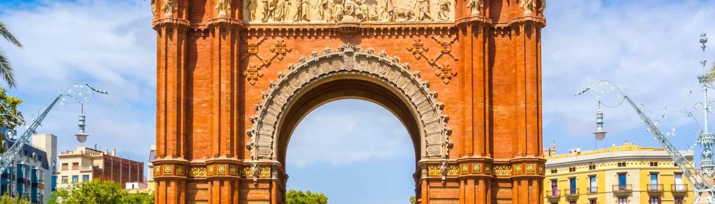 Barcelona groepsreis Arc de Triomf
