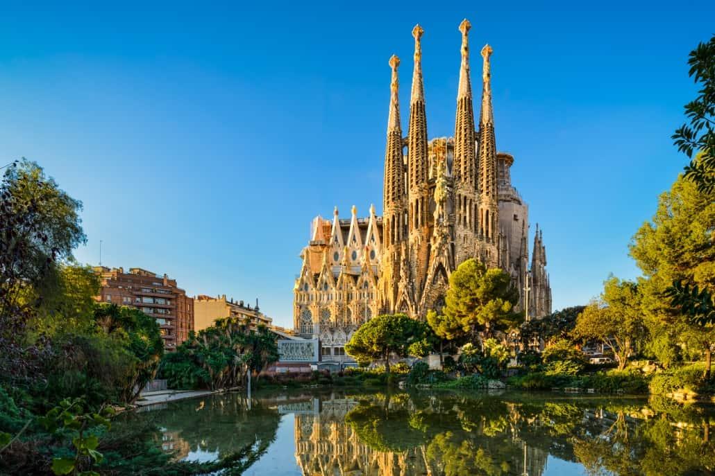 Barcelona groepsreis Sagrada Familia