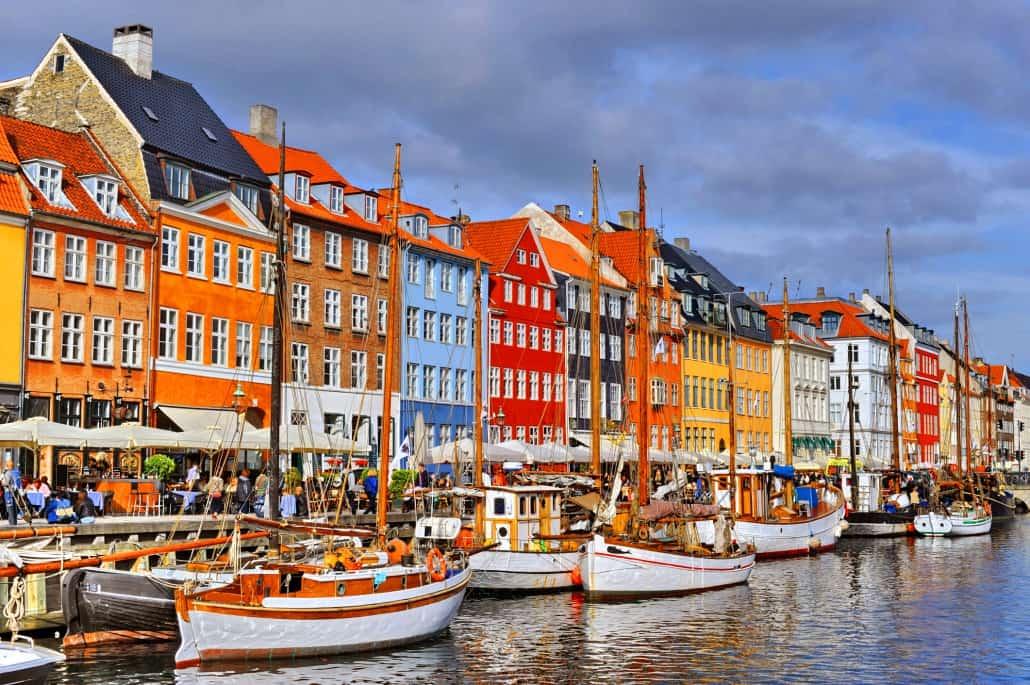 Kopenhagen Groepsreis Nyhavn Boten