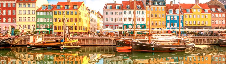 Kopenhagen Groepsreis Nyhavn weerspiegeling