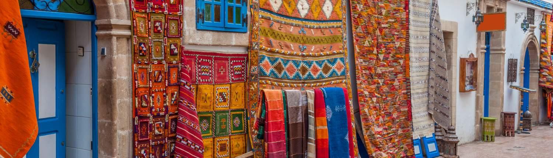 Marrakech Groepsreis Handgeweven tapijt