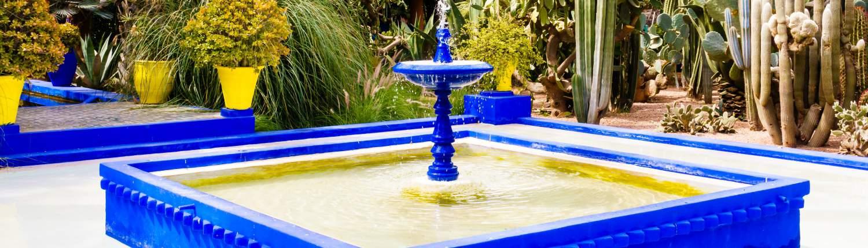 Marrakech Groepsreis Jardin Marjorelle