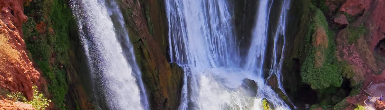 Marrakech Groepsreis Ouzoud Watervallen