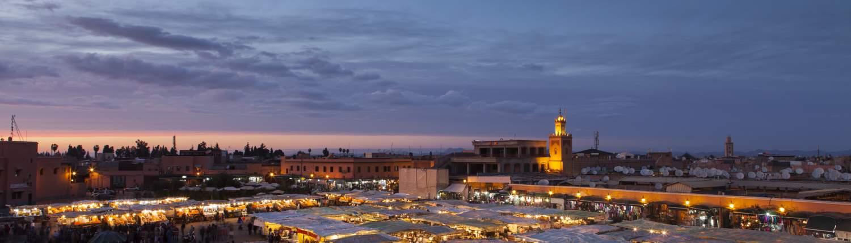 Marrakech Groepsreis Souk by night