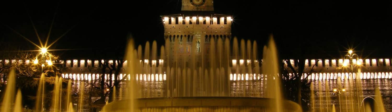 Milaan Groepsreis Sforesco night