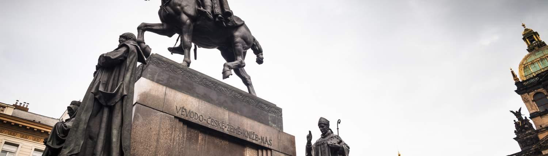 Praag Groepsreis Standbeeld Wenceslas