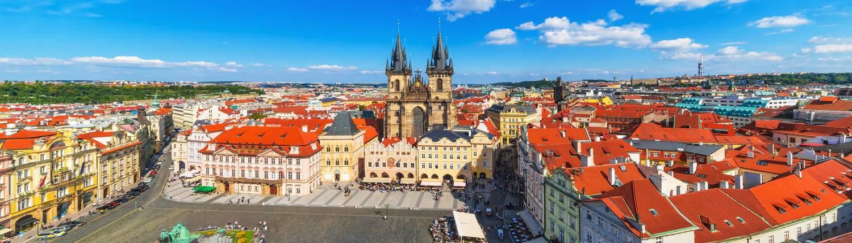 Praag Groepsreis overview city