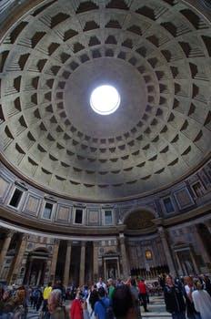 Rome Groepsreis Phanteon binnenkant