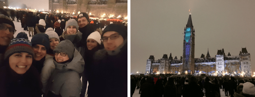Groepsreis Canada Ottawa Jaarwisseling
