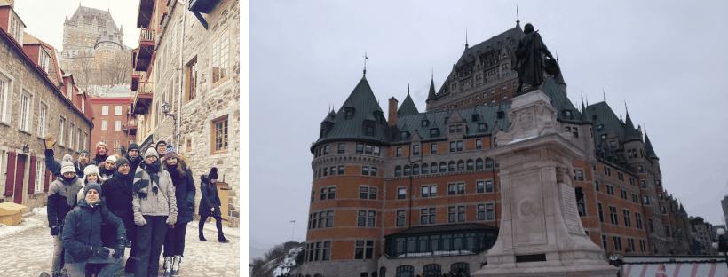 Groepsreis Canada Quebec Chateau Frontenac