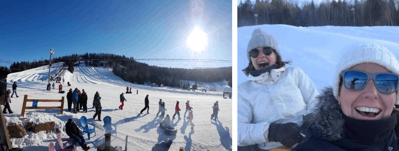 Groepsreis Canada Snow Tuben