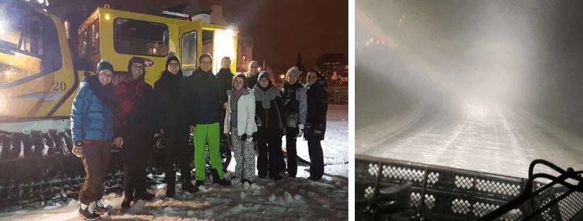 Groepsreis Canada Sneeuwschuiver